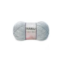 Nako Süper İnci Örgü İpliği 195 Gümüş