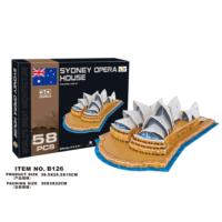 Cc Oyuncak 3D Puzzle Sydney Opera House - 58 Parça
