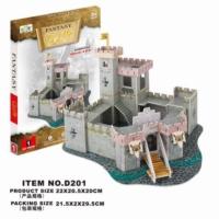 Cc Oyuncak 3D Puzzle Fantasy Castle - 37 Parça