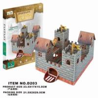Cc Oyuncak 3D Puzzle Fantasy Castle - 26 Parça