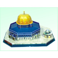 Zoziko Kudüs Kubbet-Üs Sahra (Kubbet-Us Sahra Building) 3D Puzzle