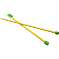 Spagetti Yarn Kapaklı Sarı Şiş 10 Numara