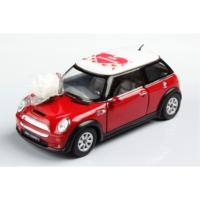 Kinsmart Mini Cooper - Seni Seviyorum Logolu