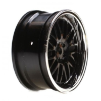 Horizon Hobby Vaterra Touring Car Front Black Chrome Deep Mesh Wheel 54X26Mm (2 Adet)