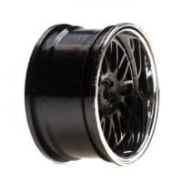 Horizon Hobby Vaterra Touring Car Rear Black Chrome Deep Mesh Wheel 54X30Mm (2 Adet)