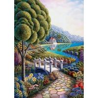 Art Puzzle Çiçek Koyu 1000 Parça Puzzle