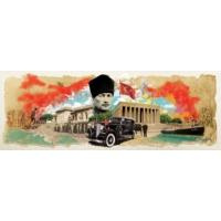Art Puzzle Atatürk Kolajı Panorama 1000 Parça Puzzle