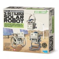 4M 3ü 1 Arada Mini Solar Robotu 3377