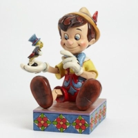 Enesco Disney Pinocchio Just Give A Little Whistle Figurine