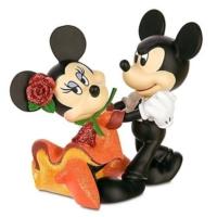 Enesco Disney Showcase Mickey And Minnie Tango Figurine, 4 Inch