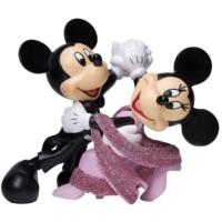 Enesco Disney Showcase Mickey And Minnie Waltz Figurine 4-1/4 Inch