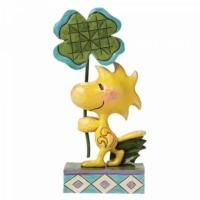 Enesco Peanuts 'Luck Of The Woodstock' Figurine