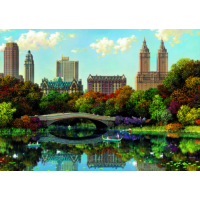 Educa Puzzle Central Park Bow Bridge 8000 Parça Puzzle
