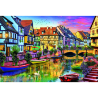 Educa Puzzle Colmar Canal 4000 Parça Puzzle