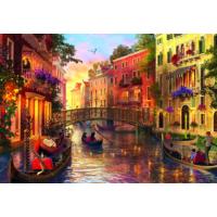 Educa Puzzle Sunset in Venice 1500 Parça Puzzle