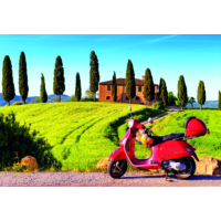 Educa Puzzle Scooter in Toscana 1500 Parça Puzzle