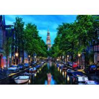 Educa Puzzle Amsterdam Canal At Dusk 1500 Parça Puzzle