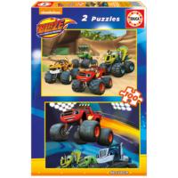 Educa Puzzle Blaze 2 X 100 Parça Karton Puzzle