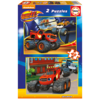Educa Puzzle Blaze 2 X 48 Parça Karton Puzzle