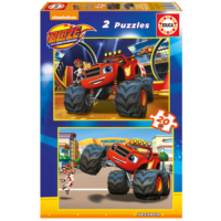 Educa Puzzle Blaze 2 X 20 Parça Karton Puzzle