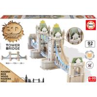 Educa Puzzle Tower Brige 3D Ahşap Puzzle