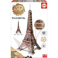 Educa Puzzle Tour Eiffel 3D Ahşap Puzzle