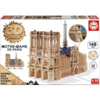 Educa Puzzle Notre Dame 3D Ahşap Puzzle