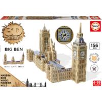 Educa Puzzle Big Ben & Parlamento 3D Ahşap Puzzle