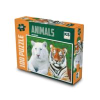 Ks Puzzle 100 Parça Tiger Brothers Mini Puzzle 7113