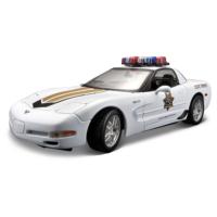 Maisto 1:18 Corvette Z06 Police Model Araba S/E