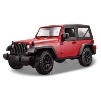 Maisto 2014 Jeep Wrangler 1 - 18 Model Araba s - e Kırmızı