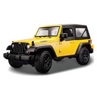 Maisto 2014 Jeep Wrangler 1 - 18 Model Araba s - e Sarı
