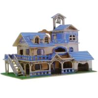 İdeal 3D Büyük Ahşap Maket Ege Evi