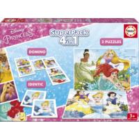 Educa Puzzle Disney Princesses Superpack Eğitim Seti