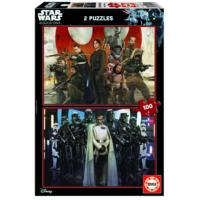 Educa Puzzle Rouge One Star Wars 2 X 100 Parça Karton Puzzle