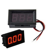 Dijital Voltmetre DC 0-100V Voltaj Ölçer Avometre Akü Ölçer