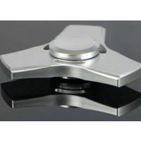 Ceptoys Stres Çarkı Üçlü Metal Hand Spinger Gümüş