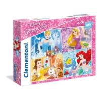 Clementoni 23703 - 104 Parça Disney Prensesleri Maxi Çocuk Puzzle