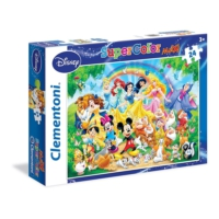 Clementoni Disney Klasikleri Maxi Çocuk Puzzle (24 Parça)
