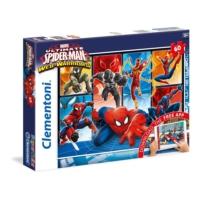 Clementoni + Mobil Uygulama Örümcek Adam Puzzle (60 Parça)