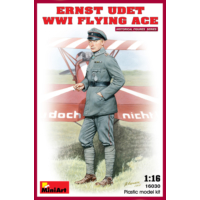 Miniart 1/16 Ölçek Plastik Maket, Ernst Udet, Wwı Flying Ace