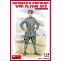 Miniart 1/16 Ölçek Plastik Maket, Hermann Goering, Wwı Flying Ace