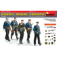 Miniart 1/35 Ölçek Plastik Maket, Sovyet Donanma Birliği, Silah Ve Ekipmanlı Özel Sürüm
