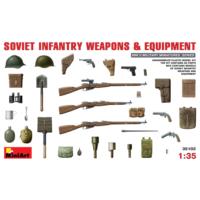 Miniart 1/35 Ölçek Plastik Maket, Sovyet Piyade Silah Ve Ekipmanları