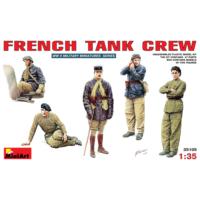 Miniart 1/35 Ölçek Plastik Maket, Fransız Tank Mürettebatı