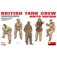 Miniart 1/35 Ölçek Plastik Maket, Kış Üniformalı İngiliz Tank Mürettebatı