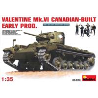 Miniart 1/35 Ölçek Plastik Maket, Kanada Yapımı Valentine Mk Vı, Erken Dönem