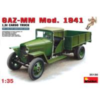Miniart 1/35 Ölçek Plastik Maket, Gaz-Mm Kargo Kamyonu, 1941 Model
