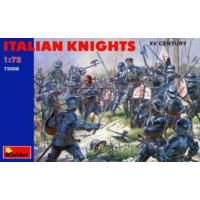 Miniart 1/72 Ölçek Plastik Maket, İtalyan Şövalyeler, Xv Yy