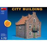 Miniart 1/72 Ölçek Plastik Maket, Şehir Binası, Renkli Kit